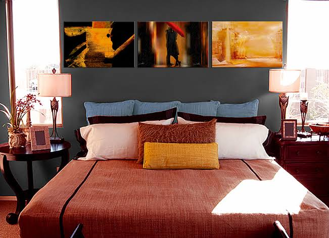 5 Canvas painting ideas for your bedroom